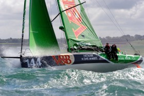 CLASS 40;COURSE;DOUARNENEZ;GRAND PRIX;GUYADER;INSHORE;MAI;RACE;REGATE;REGATTA;SAILING;VOILE;V AND B;SOREL