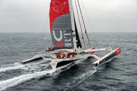 AROUND THE WORLD;COURSE;IDEC;JOYON;LARGE;OFFSHORE RACE;RECORD;SAILING;TOUR DU MONDE;TROPHEE;VERNE;VOILE;OUESSANT