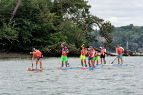 STAND UP PADDLE;SUP;PLANCHE;BOARD;TROPHY;COURSE;RACE;COUPE DE FRANCE;MORBIHAN;2017