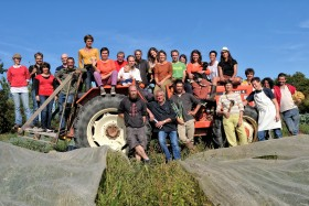 GROUPE;GROUP;PORTRAIT;CHAMP;CAMP;TRACTEUR;TRACTOR
