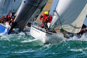 COURSE;RACE;REGATE;REGATTA;SAIL;VOILE;ACTION;PRES;CLOSE HAULED;ON THE WIND