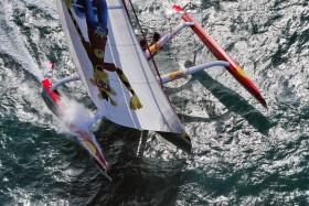 COURSE;LARGE;MULTI 50;MULTICOQUE;MULTIHULL;OFFSHORE;RACE;REGATE;REGATTA;SAIL;VOILE;ESCOFFIER