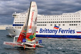LEMONCHOIX;MULTI 50;MULTICOQUE;MULTIHULL;TRIMARAN;BRITTANY FERRIES