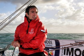 BATEAU;BOAT;COURSE;IMOCA;LARGE;OFFSHORE;RACE;SAIL;VOILE;A BORD;ON BOARD;IMOCA
