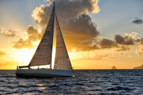 COURSE;DUO;OFFSHORE;RACE;REGATE;REGATTA;SAILING;SINGLE HANDED;SOLO;TRANSAT;TRANSATLANTIQUE;VOILE;SUNSET;COUCHER DE SOLEIL