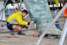 CHANTIER NAVAL;COURSE;DUO;HIVERNER;OFFSHORE;RACE;REGATE;REGATTA;SAILING;SHIPYARD;SINGLE HANDED;SOLO;TRANSAT;TRANSATLANTIQUE;VOILE;WINTER;QUILLE;KEEL