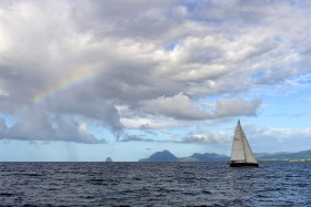COURSE;DUO;OFFSHORE;RACE;REGATE;REGATTA;SAILING;SINGLE HANDED;SOLO;TRANSAT;TRANSATLANTIQUE;VOILE;ARC EN CIEL;RAINBOW