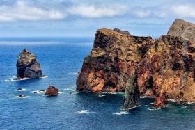 FALAISE;CLIFF;ROCHE;ROCK;BORD DE MER;PAYSAGE;SEASCAPE;ILE;ISLAND;MADEIRA