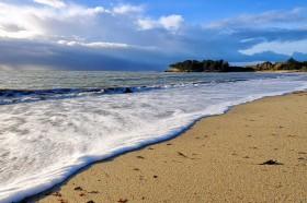 PLAGE;BEACH;SABLE;SAND;VAGUE;WAVE;MAREE;TIDE;PAYSAGE;SEASCAPE;ECUME;FOAM;BRETAGNE;BRITTANY