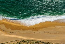 AERIEN;ARERIAL;BEACH;BRETAGNE;MORBIHAN;PLAGE;SAND;WATER